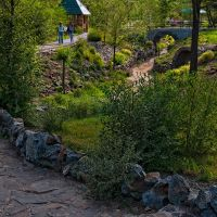 nice park view, Усть-Каменогорск