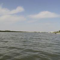 Река Урал переходит в Урало-Каспийский канал, Балыкши