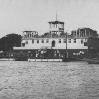 Старая Гребная База в 1958 г, сейчас на этом месте здание ФОК, Атырау(Гурьев)