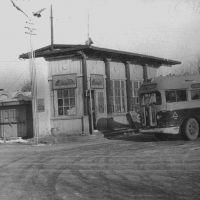 Конечная остановка автобуса Жилгородок 1958 г., Атырау(Гурьев)