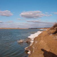 Урал зимой. Ural river in winter, Индерборский