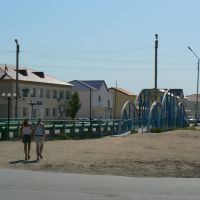 Kulsary. Bridges., Кульсары