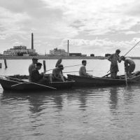 Кульсары, озеро Камыскуль - 1956 год, Кульсары