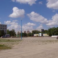 Zhitigara, central square., Георгиевка