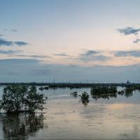 Река Карталы-Аят после проливных дождей, Георгиевка