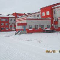 Новая поликлиника и больница, Луговое