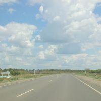 Крутой поворот направо, Луговое