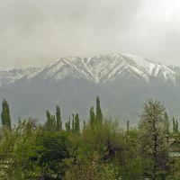 Вид на горы с Мерке, Мерке