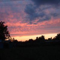 закат летом, Михайловка
