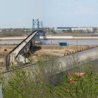 Панорама мостов Жилгородка, Ойтал