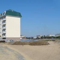 Благоустройство территории у пляжа, Ойтал