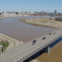 Автомобильный мост Авангард - Жилгородок начал эпоху уничтожения облика прежнего жилгородка, Ойтал
