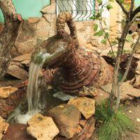 Jug full of water at the restaurant garden., Агадырь
