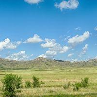 Фрагмент (исходник) панорамы., Акжал