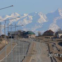 Вид в сторону Пахтакора 3, Актас