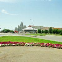 Городской пейзаж.Астана, Атасу