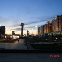 Astana Baitereck, Атасу