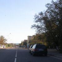 Улица спускается к озеру/The street goes down to lake, Балхаш