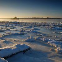 Буксир солнце зима, Никольский