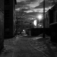 Ночь. Фонарь., Никольский
