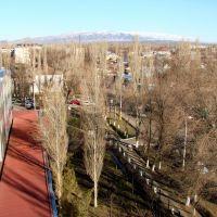 Перекресток Конаева-Айтиева, Тараз