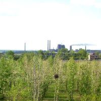 Цем.завод с крыши СШ №32, Актау