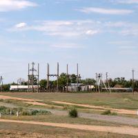 Вид с трассы А17 близ Атасу / A17 Road view near Atasu, Егиндыбулак