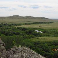 Kargaly river valley, Карагайлы