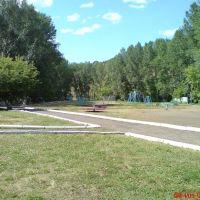 пионерский лагерь.двор, Карагайлы