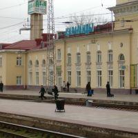 Вокзал Караганда (вид с поезда), Караганда