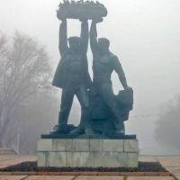 """Караганда. Монумент """"Шахтерская слава"""", Караганда"""