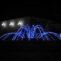 Night fountain / Ночной фонтан, Караганда