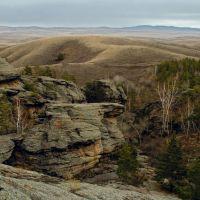 Три пещеры, Каркаралинск