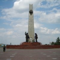 Памятник Металлургам, Темиртау
