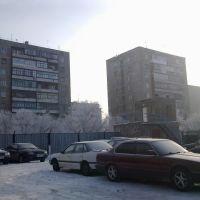 На автостоянке, Темиртау