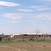 На подъезде к Атасу. Вид с трассы А17 / Near Atasu (A17 Road View), Токаревка