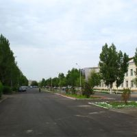 newly built road in Kyzylorda, Джалагаш