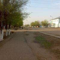 Проспект Коркыт-Ата, Джусалы