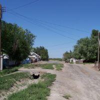 Начало улицы Валиханова, Казалинск