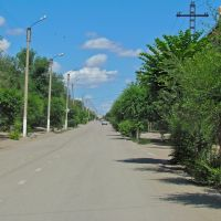 Str. Gurba, Satpayev / ул. Гурбы, г. Сатпаев, Новоказалинск