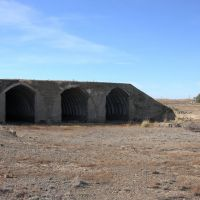 SA-2 missile shelter in the abandoned Balytky-Kul SAM site, Алексеевка