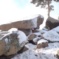 В Боровом зимой, Боровое