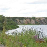 Ishim river, Володарское