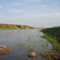 Крещенка, на берегу Ишима, Володарское