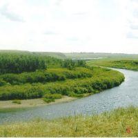 Kasachstan. Ishim river.Old Peski. Казахстан, Река Ишим. Старые Пески., Володарское