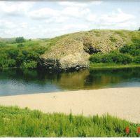 Kazachstan. Ishim river.Old Peski. Казахстан,река Ишим.Старые Пески., Володарское