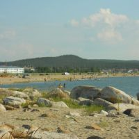 Зерендинское озеро. Вторые камни, Зеренда