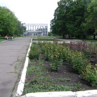 На площади Шибанкова, Красноармейск