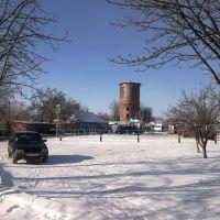 Вид на водонапорную башню, Куйбышевский