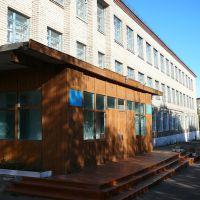 Чистопольская средняя школа, вид сбоку, Чистополье